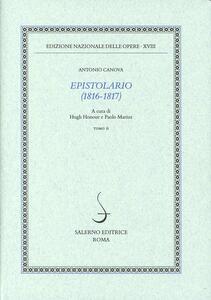 Epistolario (1816-1817). Vol. 2: 1817.