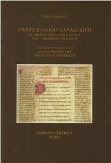 Dante e Guido Cavalcanti. Il dissidio per la «Vita nuova» e il «disdegno» di Guido.pdf