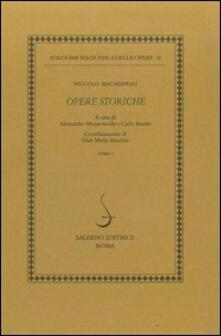 Istorie fiorentine-Vita di Castruccio Castracani da Lucca - Niccolò Machiavelli - copertina