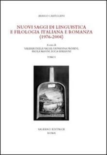 Antondemarirreguera.es Nuovi saggi di linguistica e filologia italiana e romanza (1976-2004) Image