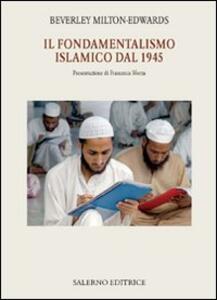 Il fondamentalismo islamico dal 1945