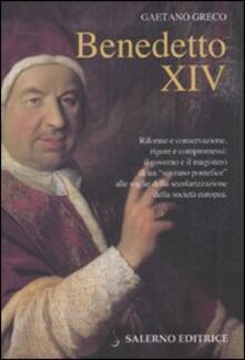 Premioquesti.it Benedetto XIV Image