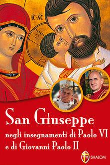 Equilibrifestival.it San Giuseppe negli insegnamenti di Paolo VI e di Giovanni Paolo II Image