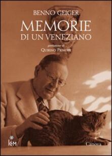 Vitalitart.it Memorie di un veneziano Image
