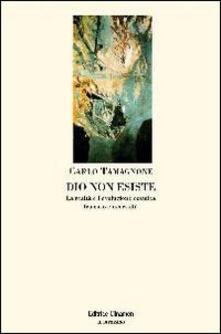 Dio non esiste. La realtà e l'evoluzione cosmica tra caso e necessità - Carlo Tamagnone - copertina