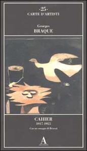 Cahier 1917-1955