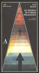 Libro Quaderno di schizzi pedagogici Paul Klee