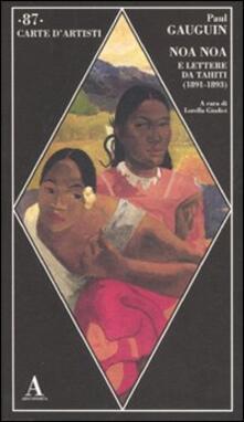 Noa Noa e lettere da Tahiti (1891-1893) - Paul Gauguin - copertina