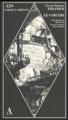 Librisulladiversita.it Le carceri. Ediz. illustrata Image