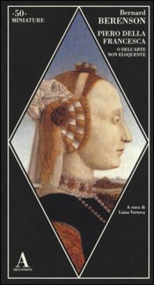 Ipabsantonioabatetrino.it Piero della Francesca, o dell'arte non eloquente Image