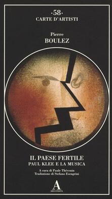Camfeed.it Il paese fertile. Paul Klee e la musica Image
