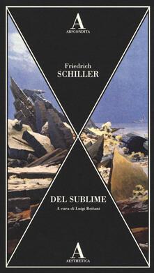 Del sublime - Friedrich Schiller - copertina