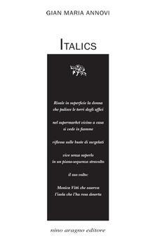 Italics - Gian Maria Annovi - copertina