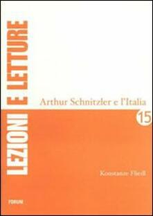 Arthur Schnitzler e l'Italia