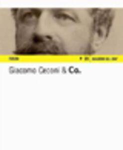 Giacomo Ceconi & Co. Un album fotografico sulla costruzione del traforo dell'Arlberg (1880-1883). Ediz. italiana e tedesca