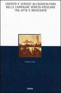 Credito e servizi all'agricoltura nelle campagne veneto-friuliane tra Otto e Novecento