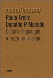 Vitalitart.it Cultura, lingua, razza: un dialogo Image