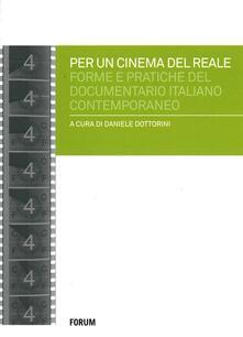 Radiosenisenews.it Per un cinema del reale. Forme e pratiche del documentario italiano contemporaneo Image