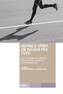 Promoartpalermo.it Doping e sport. Un rischio per tutti. Uso e abuso dei farmaci nell'attività sportiva non agonistica Image