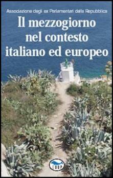 Il Mezzogiorno nel contesto italiano ed europeo - copertina