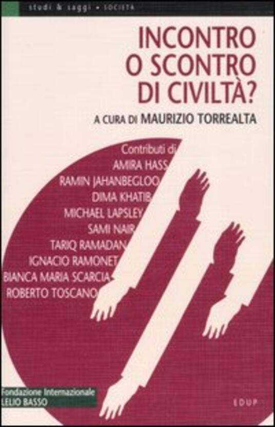 Incontro o scontro di civiltà? - copertina