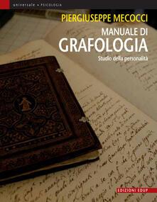 Adiaphora.it Manuale di grafologia. Studio della personalità Image