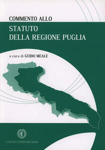 Commento allo statuto della Regione Puglia