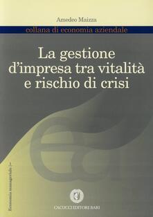 La gestione d'impresa tra vitalità e rischio di crisi - Amedeo Maizza - copertina
