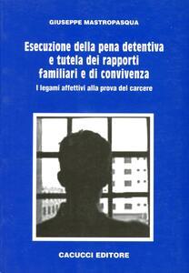 Esecuzione della pena detentiva e tutela dei rapporti familiari e di convivenza. I legami affettivi alla prova del carcere