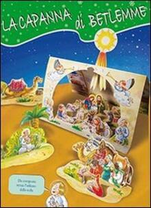 Listadelpopolo.it La capanna di Betlemme. Presepe cartonato sagomato da ritagliare per bambini piccoli Image