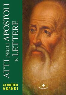 Atti degli Apostoli e lettere - copertina