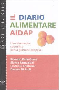 Il diario alimentare AIDAP. Uno strumento scientifico per la gestione del peso