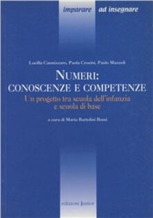 Lpgcsostenible.es Numeri: conoscenze e competenze. Un progetto tra scuola dell'infanzia e scuola di base Image