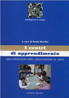 Antondemarirreguera.es Centri di apprendimento. Una prosposta per l'educazione al nido Image