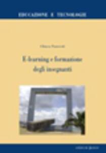 Libro E-learning e formazione degli insegnanti Chiara Panciroli