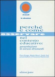 Winniearcher.com Perché e come osservare nel contesto educativo: presentazione di alcuni strumenti Image