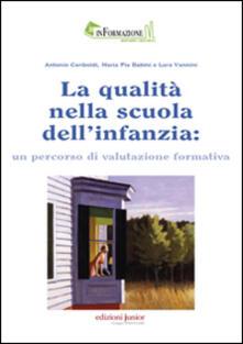 Promoartpalermo.it La qualità nella scuola dell'infanzia: un percorso di valutazione formativa Image