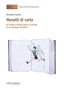 Antondemarirreguera.es Monelli di carta. Da Collodi a Pistelli: genesi e sviluppo di un paradigma educativo Image