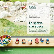 Ipabsantonioabatetrino.it Lo spazio che educa. Generare un'identità pedagogica negli ambienti per l'infanzia Image