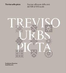 Treviso urbs picta. Facciate affrescate della città dal XIII al XXI secolo: conoscenza e futuro di un bene comune - copertina
