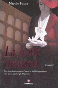 La notte italiana - Nicole Fabre - copertina