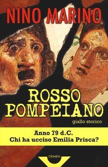 Rosso pompeiano - Nino Marino - copertina