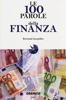 Le 100 parole della finanza - Bertrand Jacquillat - copertina