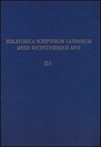 Bislam. Con CD-ROM. Vol. 2: Censimento onomastico e letterario degli autori latini del medioevo.