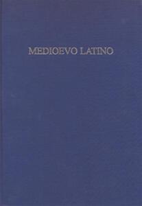 Medioevo latino. Bollettino bibliografico della cultura europea. Vol. 38
