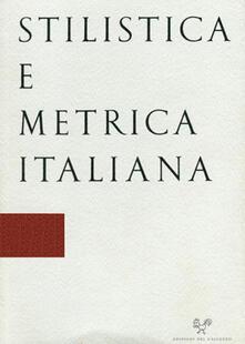 Ipabsantonioabatetrino.it Stilistica e metrica italiana (2018). Vol. 18 Image