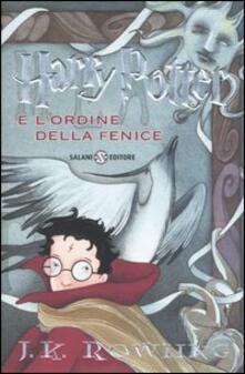 Harry Potter e l'Ordine della Fenice. Vol. 5 - J. K. Rowling - copertina