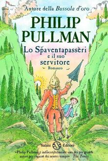 Lo spaventapasseri e il suo servitore - Philip Pullman - copertina