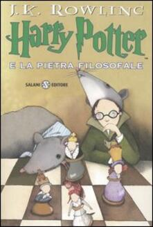 Harry Potter e la pietra filosofale. Vol. 1 - J. K. Rowling - copertina