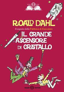 Il grande ascensore di cristallo - Roald Dahl - copertina